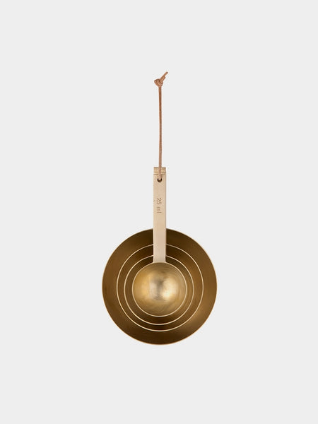 Measuring Spoons - Brass