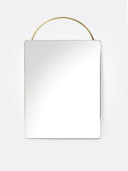 Mirror - Adorn - Brass - Face Length