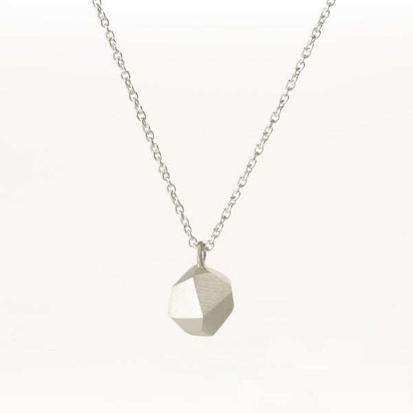 Necklace - Fionn - Gem - Solid Sterling Silver