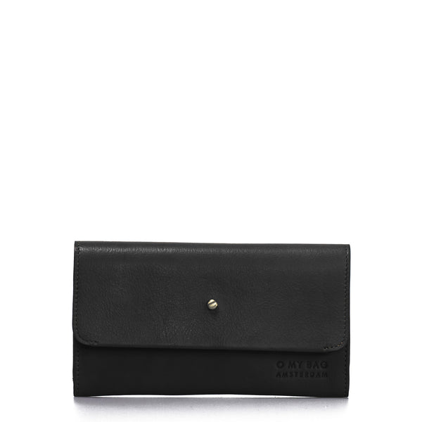 Pixie's Pouch - Soft Grain Eco Leather Wallet - Black