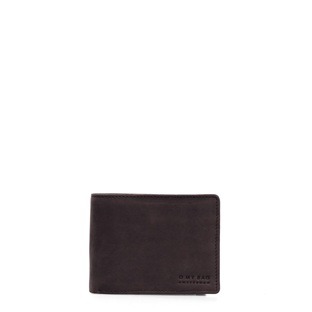 Wallet - Tobi's - Eco Hunter Leather - Dark Brown