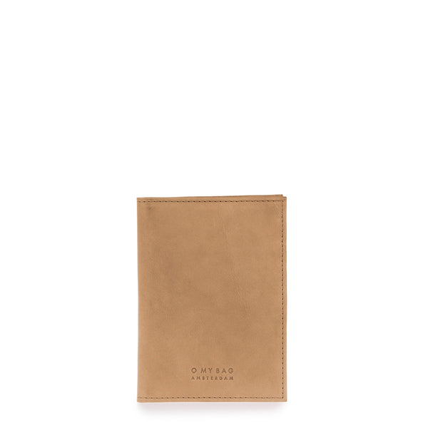 Passport Holder - Eco Leather - Camel
