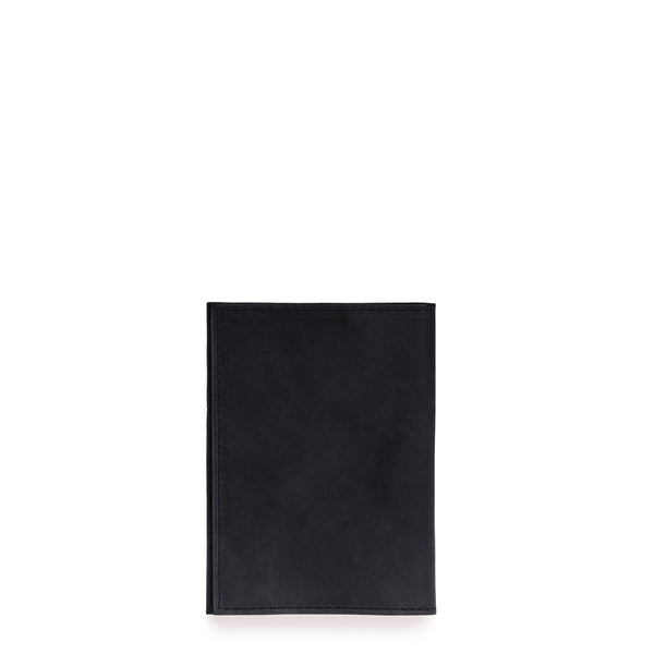Passport Holder - Eco Classic Leather - Black