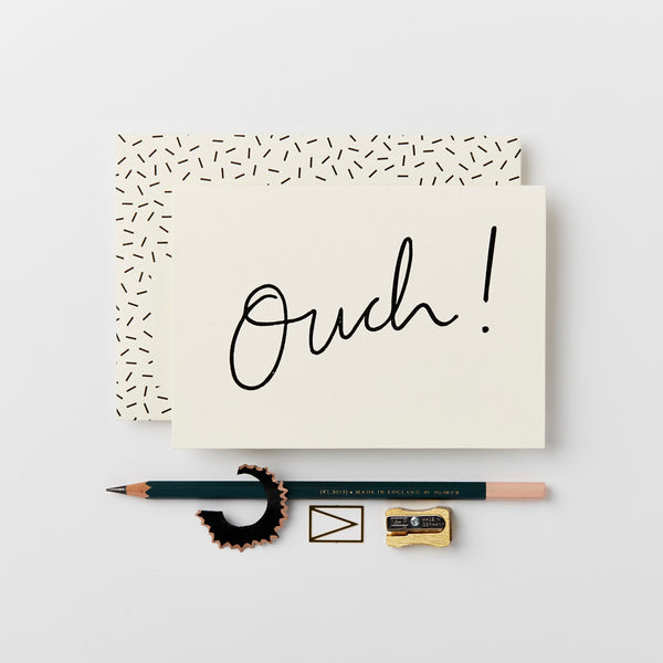 Greeting Card - Ouch