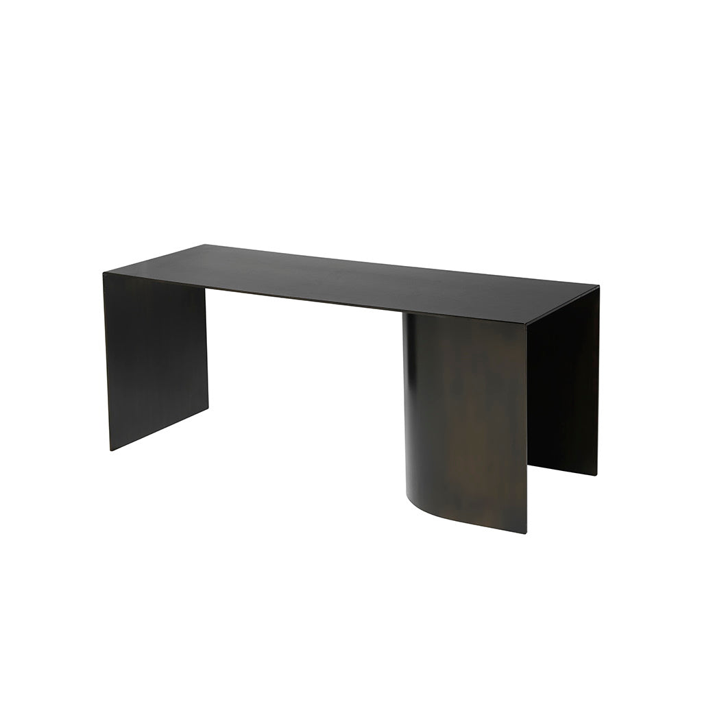 Place Bench - Blackened Steel