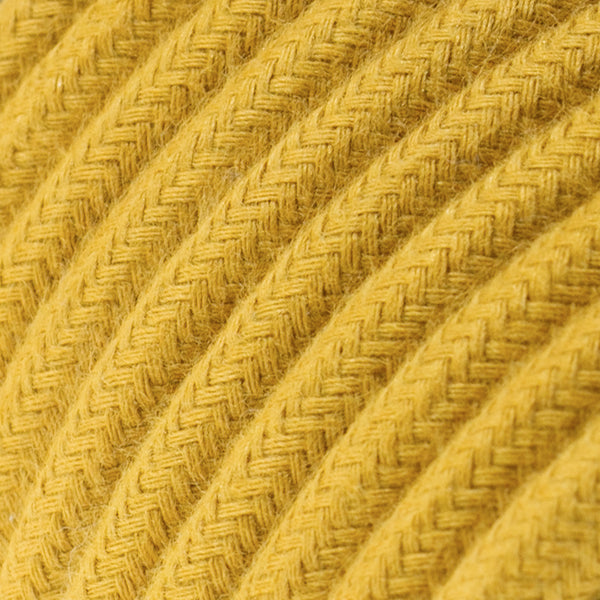 Cable - 3 Core - Cotton - Golden Honey