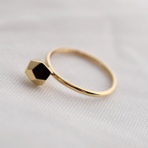 Ring - New Gem - 9 ct Gold