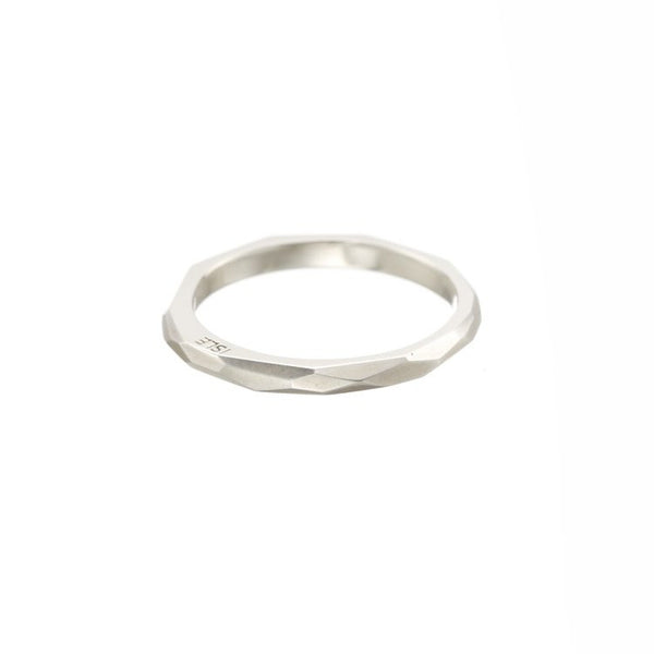 Ring - Fionn - Skinny - Solid Sterling Silver