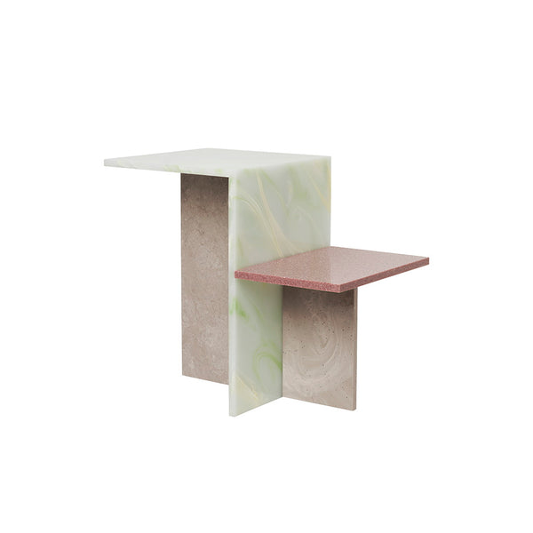 Side Table - Distinct - Acrylic Stone