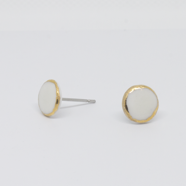 Earrings - Stud - Ose - Porcelain