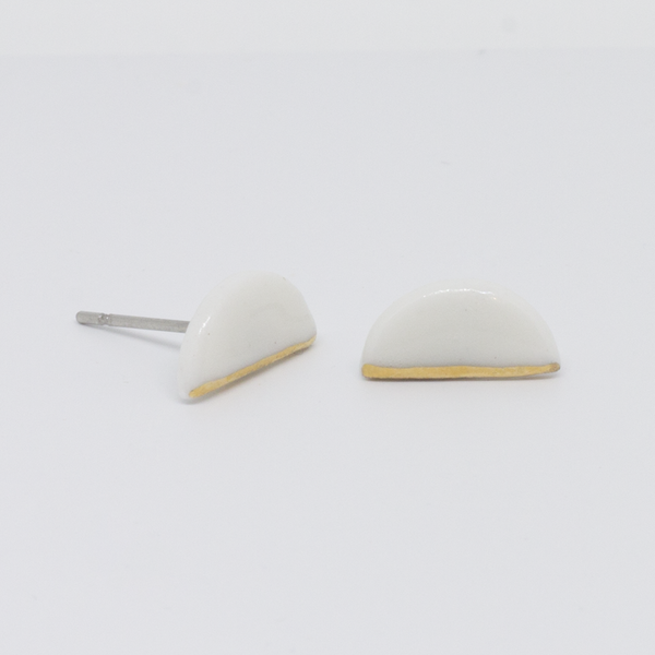 Earrings - Stud - Jura - Porcelain