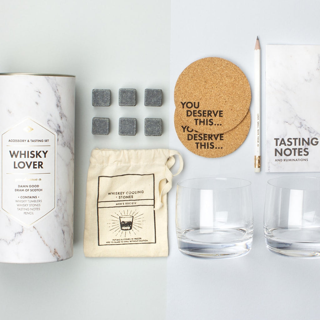 Whisky Lover's Accessory & Tasting Kit