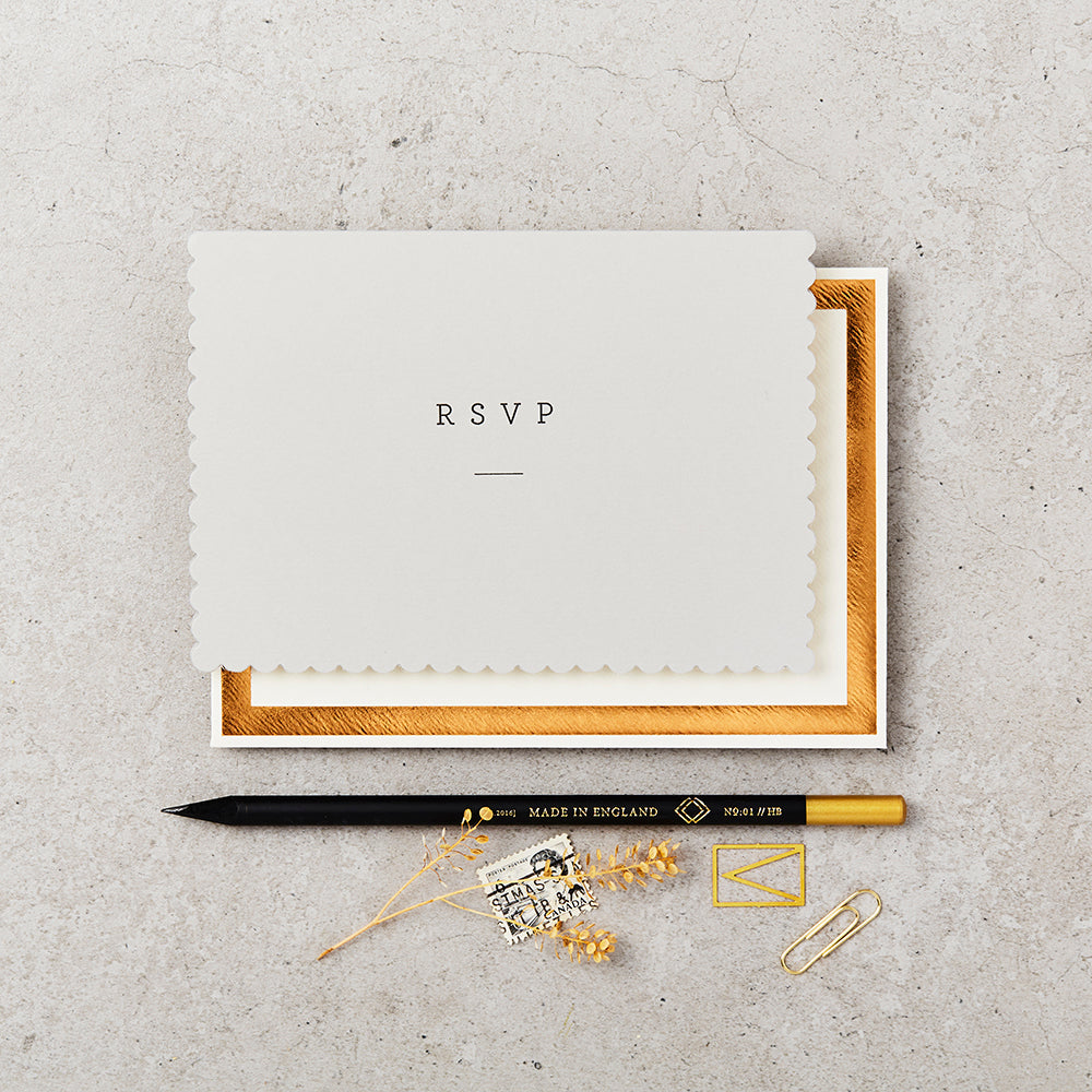 Greeting Card - RSVP