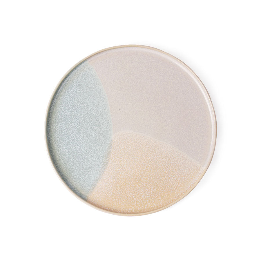 Plate - Gallery - Ceramic - Round - Mint/Nude