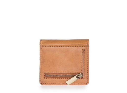 Cardholder - Alex Fold-Over - Eco Classic Leather - Cognac