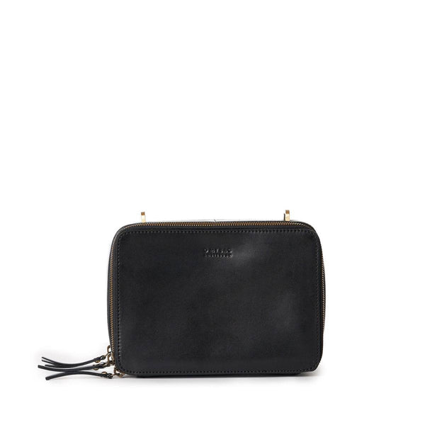 Bag - Bee's Box Bag - Eco Classic Leather - Black