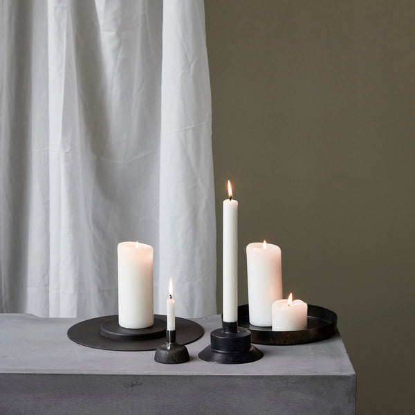 Candle Stand - Cilc - Black