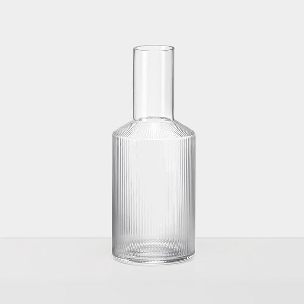 Carafe - Ripple - Mouth Blown
