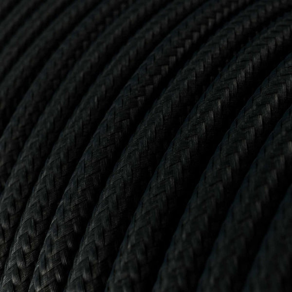 Cable - 3 Core - Rayon - Black