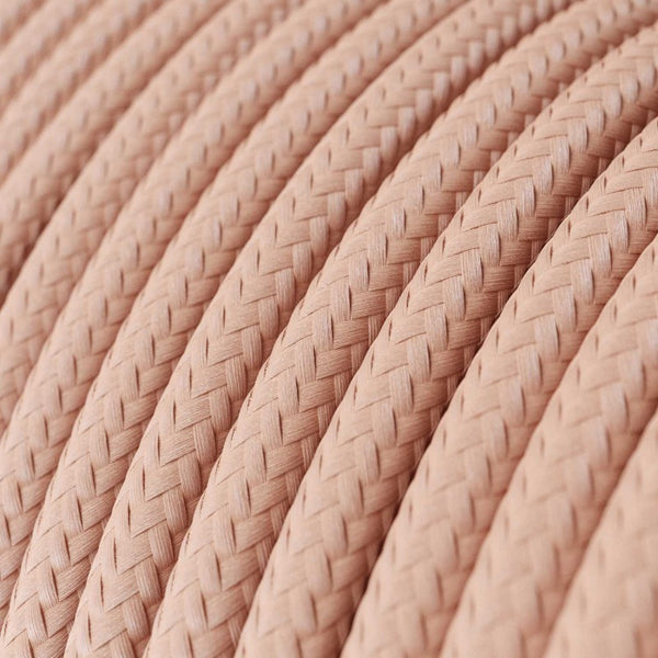 Cable - 3 Core - Rayon - Soft Pink