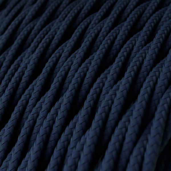 Cable - 2 Core - Rayon - Twisted - Dark Blue