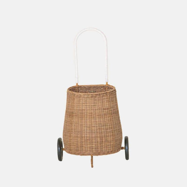 Luggy Basket - Natural Rattan