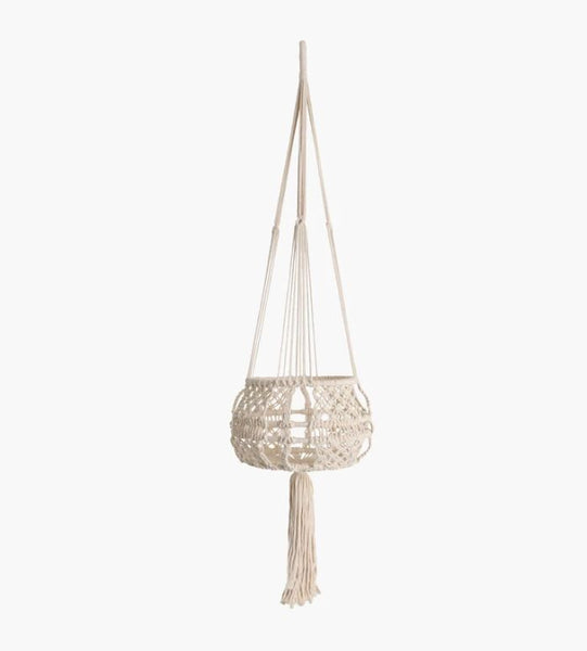 Plant Hanger - Round - Cotton
