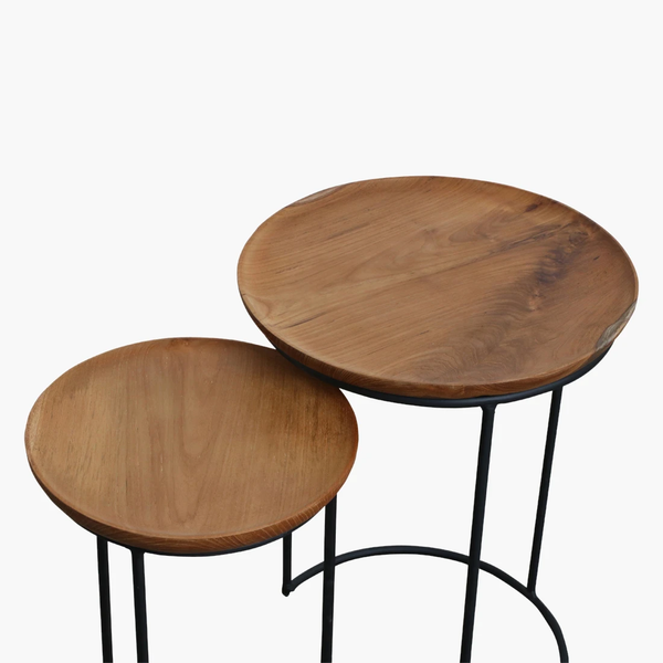 Side Table - Nesting - Teak