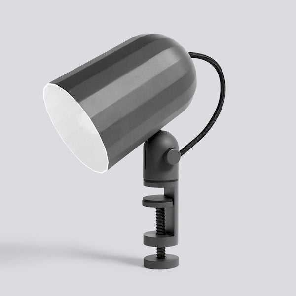 Clamp Lamp - Noc - Dark Grey