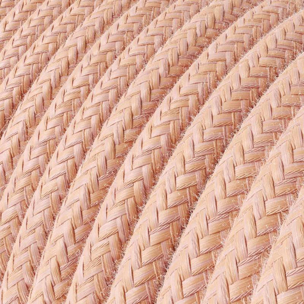 Cable - 3 Core - Rayon - Salmon