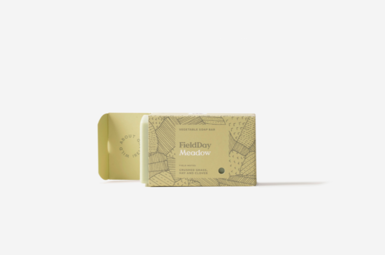 Vegetable Soap Bar - Field Day - 150G - Meadow
