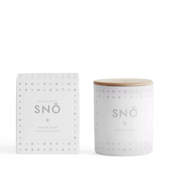 SNÖ - Scented Candle - Snow
