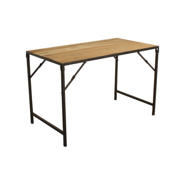 Table - Teak & Iron - Folding