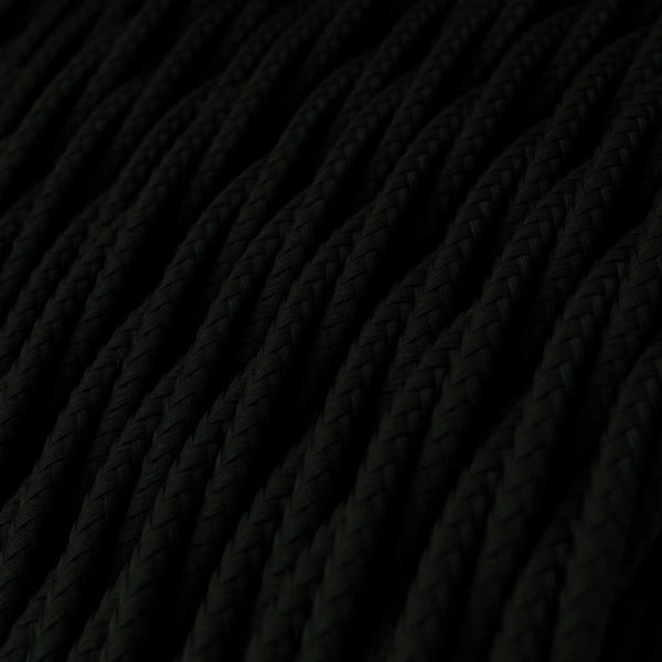 Cable - 3 Core - Rayon - Twisted - Black