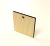 "Wood Square 1/8"" Thick With Hole (Package.Price)"