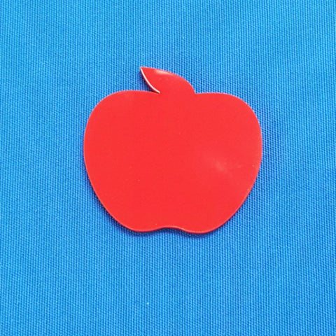 Acrylic Magnets Apple (Package.Price)