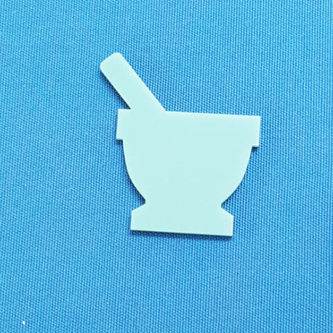 Acrylic Magnets Mortar pestle (Package.Price)