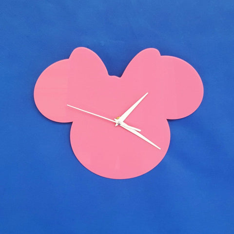 Acrylic Minnie Mouse Clock (Unit.Price)