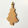 Laser Engraving Wood Christmas Ornaments Tree
