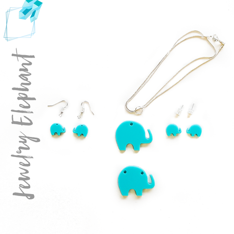 Acrylic Jewelry Elephant