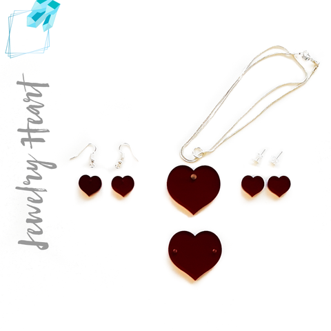 Acrylic Jewelry Hearts