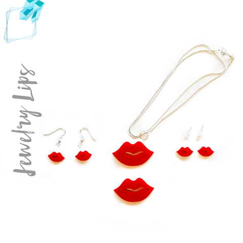 Acrylic Jewelry Lips