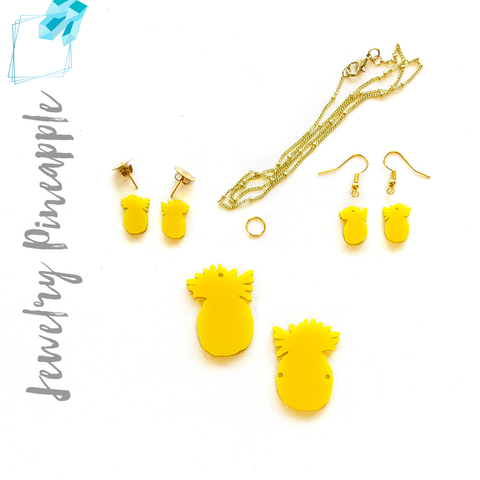 Acrylic Jewelry Pine Apple