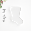 Acrylic Christmas Ornaments Large Boot