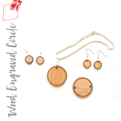 Wood Jewelry Special Circles (Package.Price)