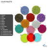 Glitter Acrylic Jewelry Samples (Pack 24 Units)