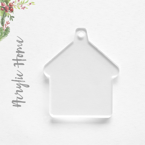 Acrylic Christmas Ornaments Home