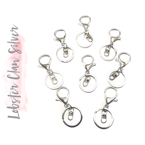 Silver Key Chain Lobster Claw ( (Package.Price)