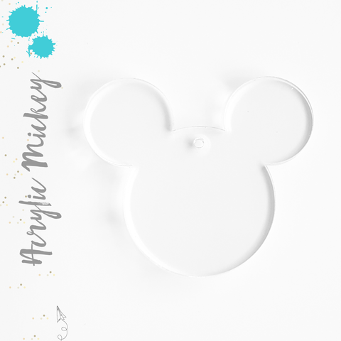 Acrylic Keychains Mickey Mouse