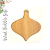 Wood Christmas Ornaments Bubble Soto (Package.Price)